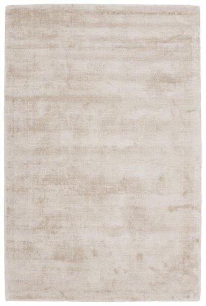 Teppich Used Look Handgewebt Weiß Creme