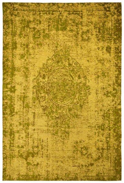 Vintage Teppich Ingwer Gelb