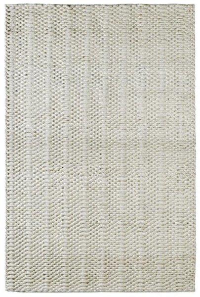 Teppich MILANO Handgefertigt Creme Weiß