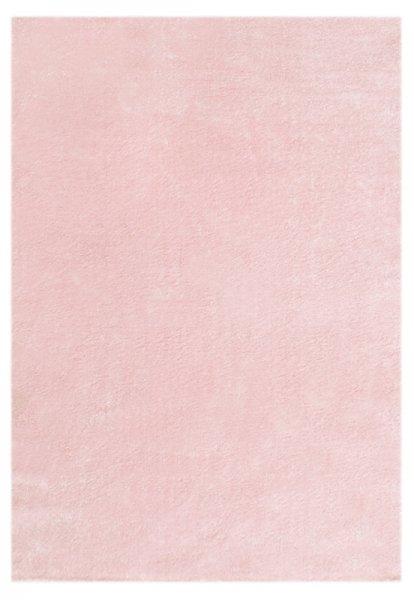 Teppich Rosa Einfarbig