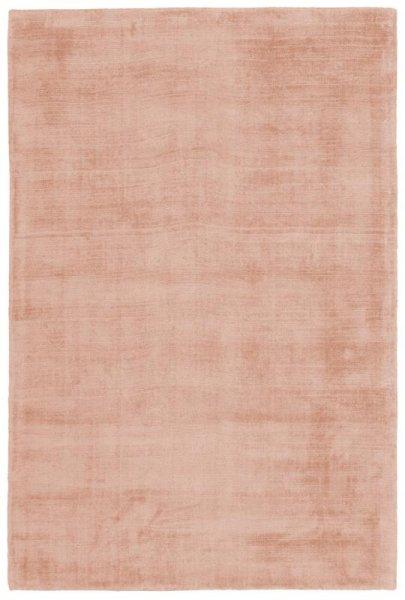 Teppich Used Look Handgewebt Pastell Rosa