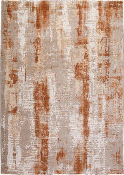 Designer Teppich Abstrakt Terracotta