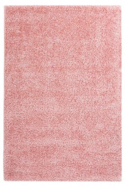 Uni-Desing Hochflor Teppich Emalia Rose