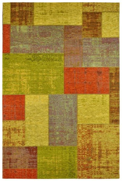 Teppich Patchwork Look Multicolor