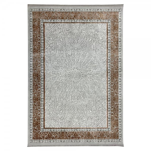 Schimmernd Orient Vintage Teppich Kupfer