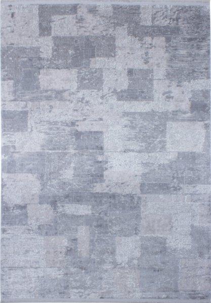 Teppich Patchwork Style Grau
