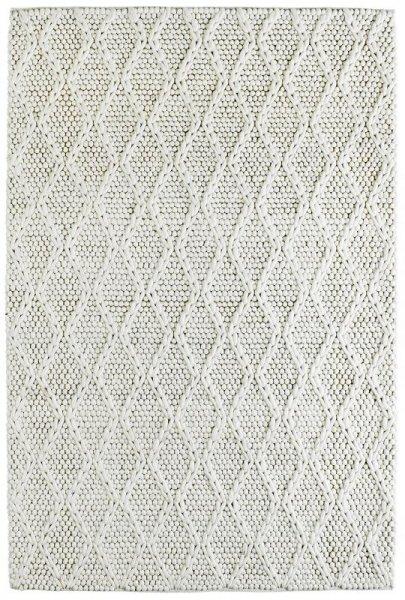 Teppich SCARLETT Handgefertigt Creme Weiß