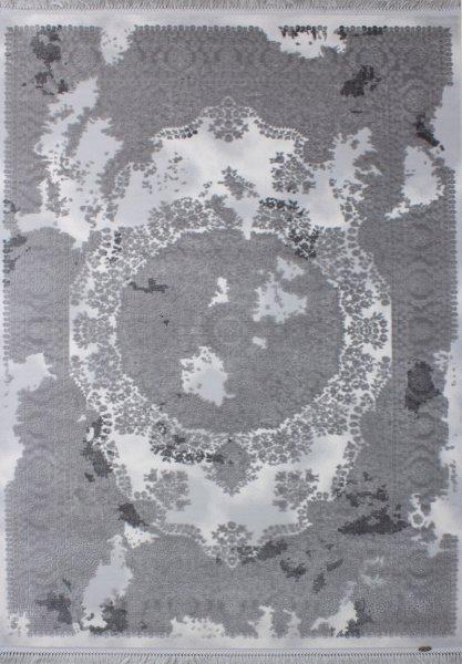 Vintage Teppich VIRGINIA Used Style Grau