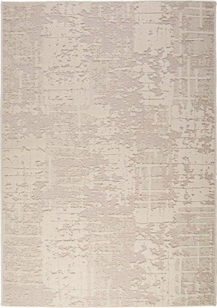Flachgewebe Wollteppich Elfenbein Weiß