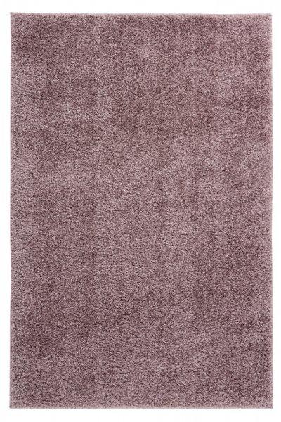 Uni-Desing Hochflor Teppich Emalia Powder Purple