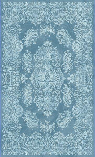 Orientteppich Türkis Blau