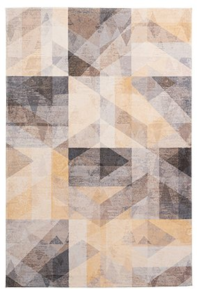 Design Teppich Diana Mustard