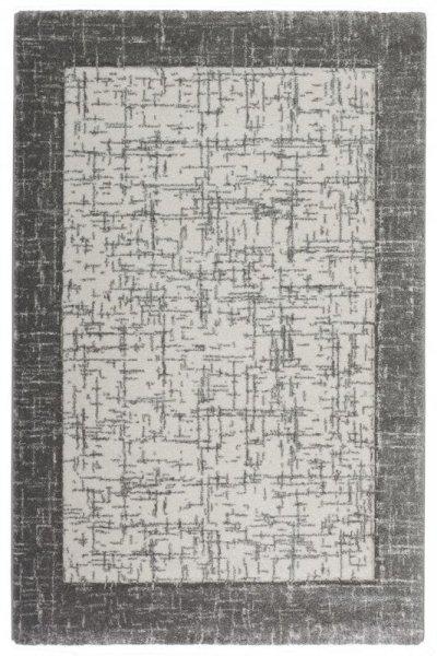 Designer Teppich Grau Creme