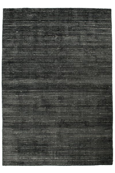 Teppich DANSK Handgeknüpft Schwarz Grau