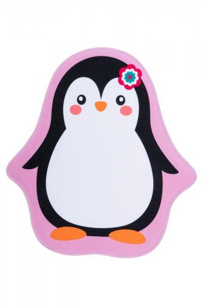 Kinderteppich Pinguine Polyester Kinderzimmerteppich Tiermotiv