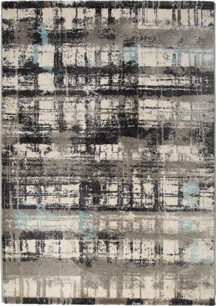 Design Teppich MADRID Braun Beige Blau