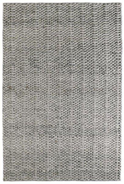 Teppich MILANO Handgefertigt Silber