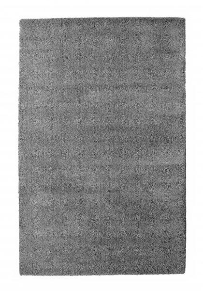 Hochflor Teppich FINN Grau