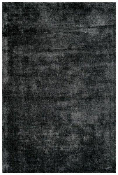 Naturfaser Teppich Handgefertigt Anthrazit