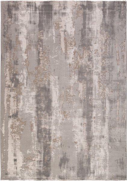Designer Teppich Abstrakt BELLA Grau