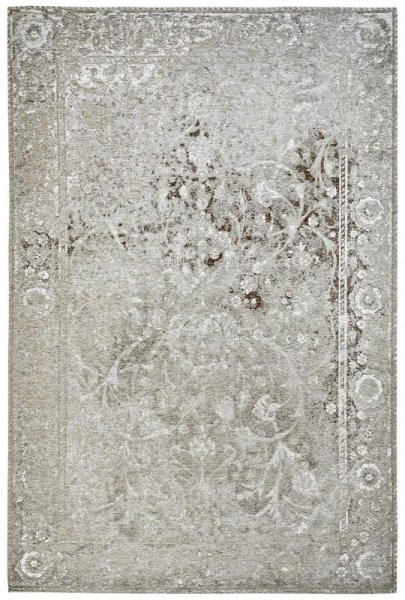 Teppich Vintage Look Taupe