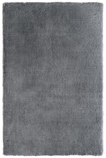 Teppich Hochflor Handgetuftet Grau