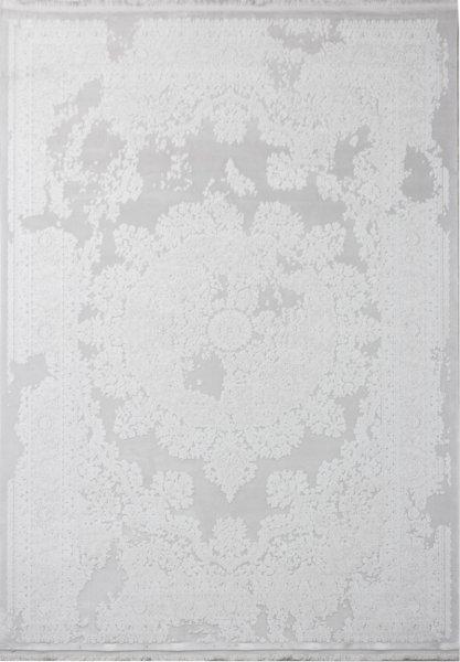 Vintage Teppich NAHLA Creme Weiß Pastell Grau
