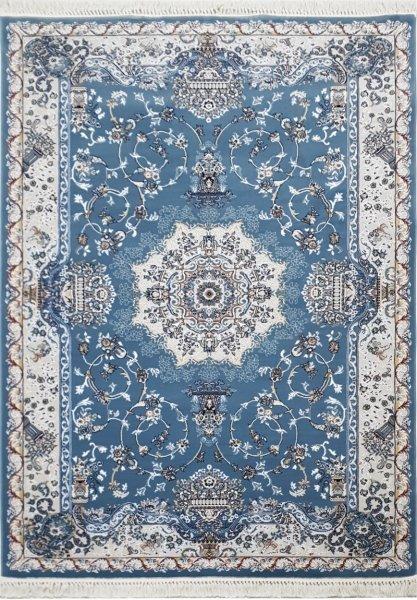 Orientteppich MOMBASA Hellblau