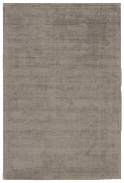 Teppich Used Look Handgewebt Grau-Braun
