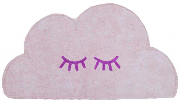 Baby-Teppich Wolke Waschbar Rosa Baumwolle