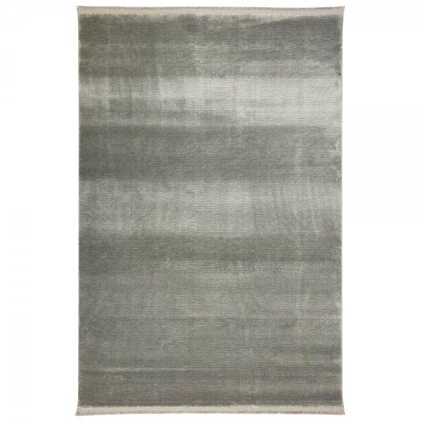 Schlichter Teppich Grau Vintage Design modern