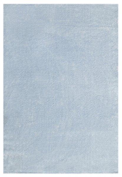Teppich Hellblau Einfarbig