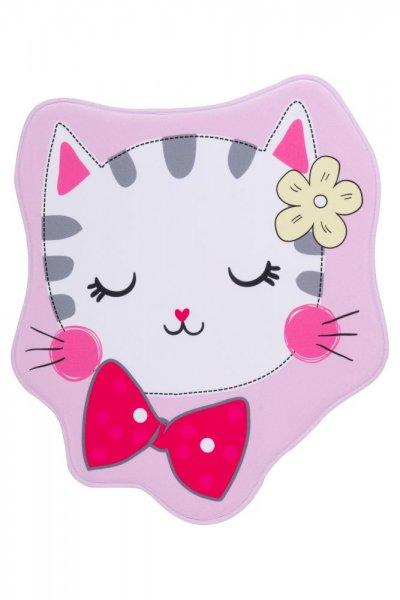 Kinderteppich Katze Polyester Kinderzimmerteppich Tiermotiv