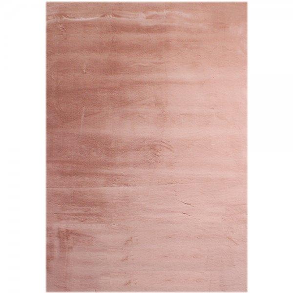 Fellteppich Weich Antirutsch Pink