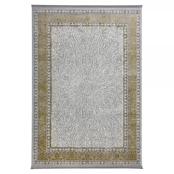 Schimmernd Orient Vintage Teppich Gold