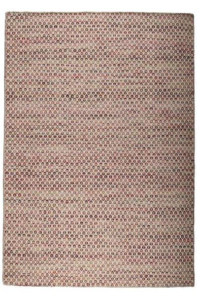 Wollteppich AALBORG Handgewebt Multicolor