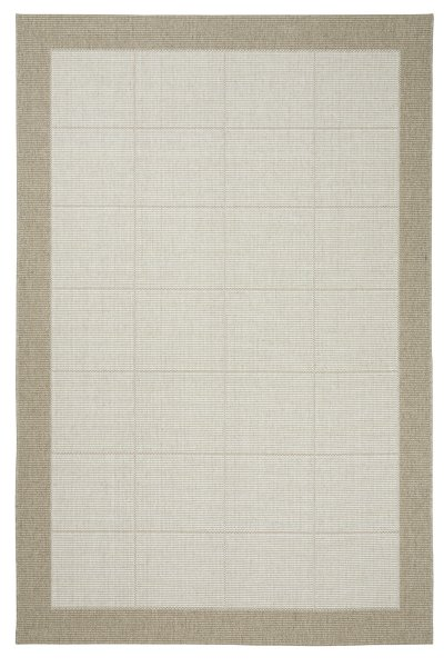 Teppich Dänisches Design Flach gewebt Beige