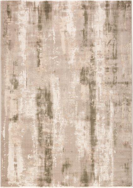 Designer Teppich Abstrakt BELLA Beige Grün