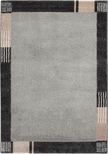 Design Teppich ALABAMA Grau Beige