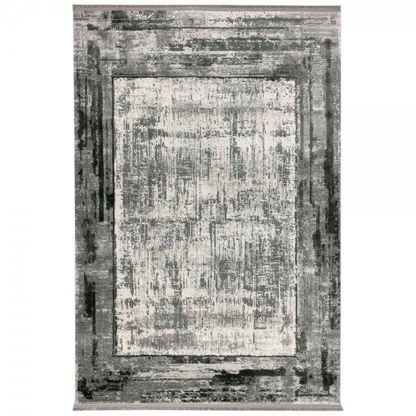 Vintage Teppich Muster Grau