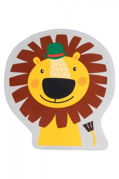 Kinderteppich Löwe Polyester Kinderzimmerteppich Tiermotiv