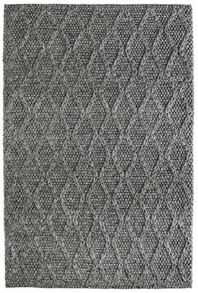 Teppich SCARLETT Handgefertigt Graphit Grau